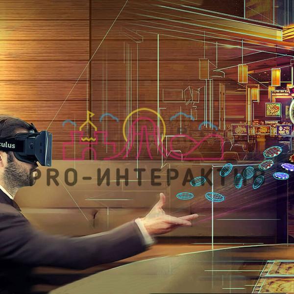 VR Казино в аренду с очками виртуальной реальности