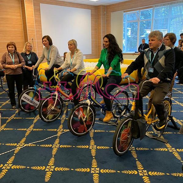 Аттракцион вело оркестр на прокат на мероприятие