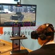 Организовать виртуальные танковые сражение на корпоративе