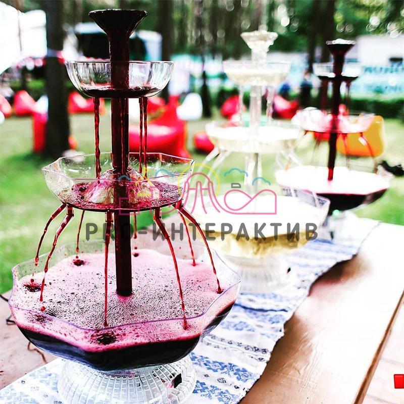 Заказать фонтан с вином