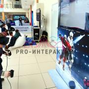 Аттракцион хоккей с очками виртуальной реальности