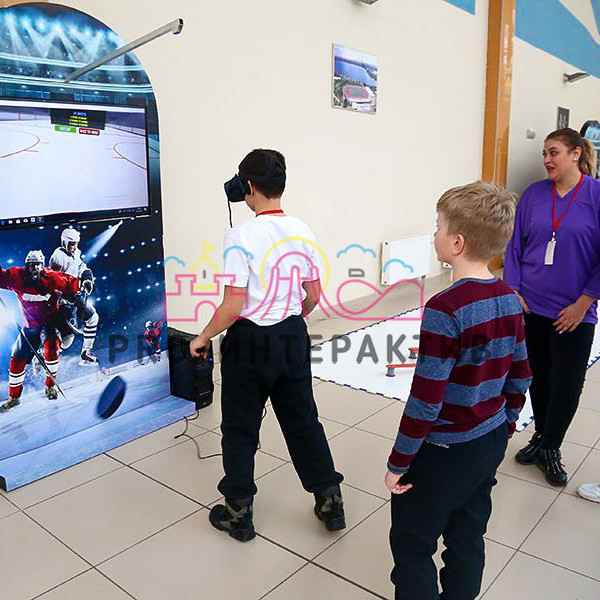 VR Хоккей с консолью на прокат