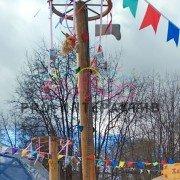 Ярмарочный столб скалодром в аренду на праздник