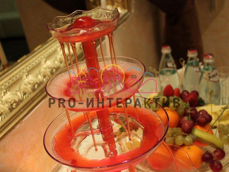 Заказать напитки в фонтанах на праздник
