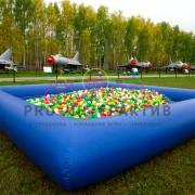 Бассейн с шариками на праздник