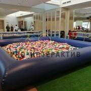 Сухой бассейн с шариками в аренду на мероприятие