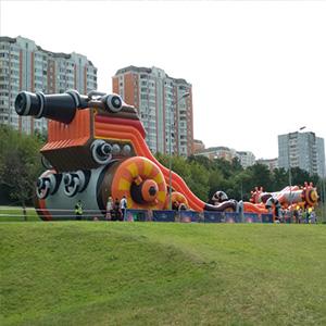Огромный батут в аренду на детский праздник