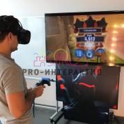 Аренда VR приставки с игрой Энгри Бёрдс VR
