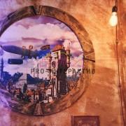 Steampunk фотозона в аренду