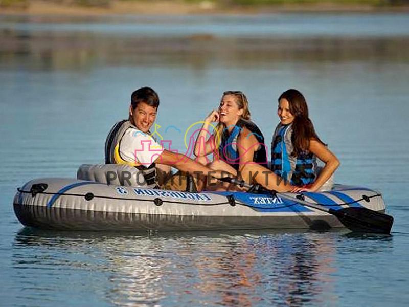 Лодка на три человека