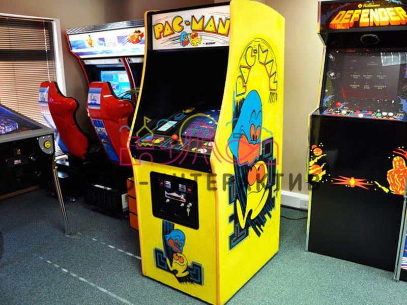 Игровые машины с Пакман