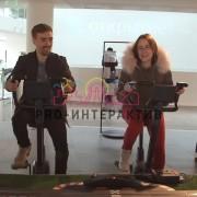 Гонки Racing на велотренажёрах