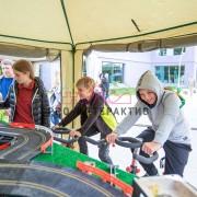 Автогонки на велотренажёрах в аренду