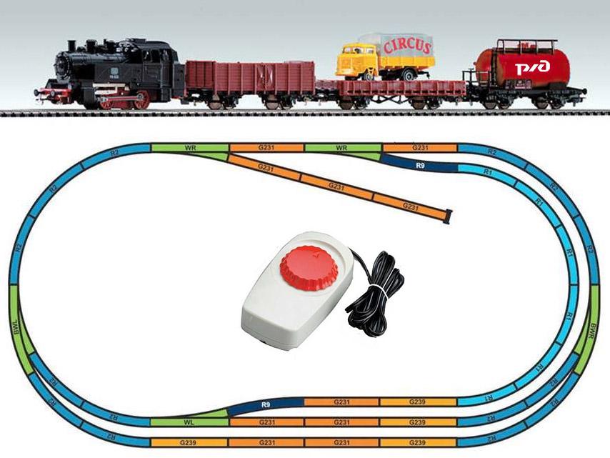 Продвинутый макет железной дороги