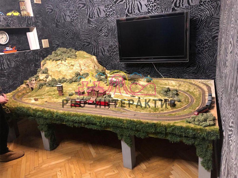 Профессиональный макет железной дороги