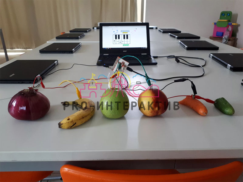Музыкальное фрукты аттракцион