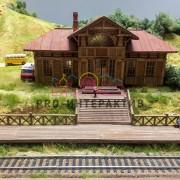 макет железной дороги на детский праздник