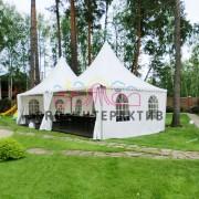 Свадебный шатёр на праздник