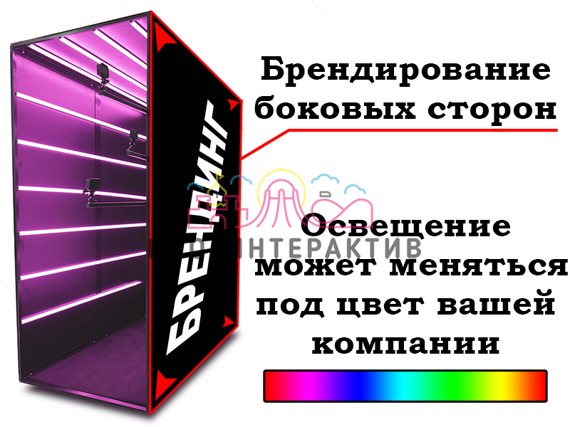 Брендирование LED Room