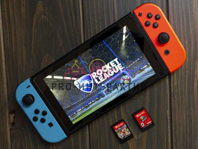 Приставка Nintendo Switch в аренду
