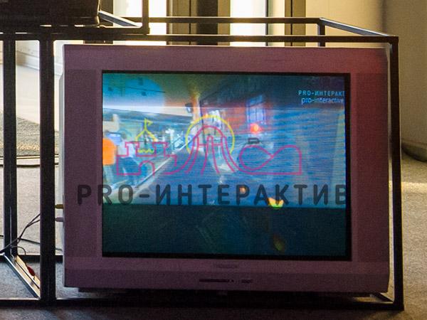 Ламповый телевизор для игровой зоны