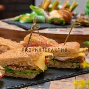 Сендвичи на углях