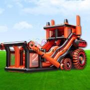 Батут Трактор в аренду на праздник