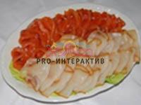 Рыбная тарелка на мероприятие