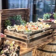 Организация салат бара на празднике