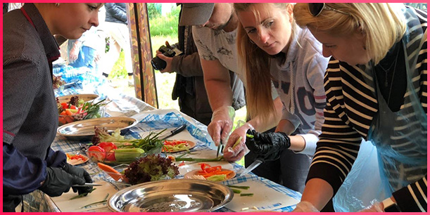 Организация кулинарных праздников