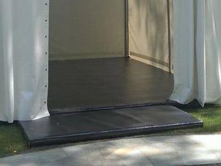 Напольное покрытие для шатра