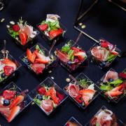 Порционные салаты на празднике