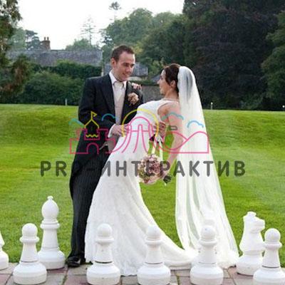 Аттракционы на свадьбу гигантские шахматы