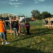Задание для тимбилдинга - командные ходули