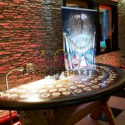 Организация фан-казино с алкогольными напитками