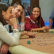 Белое фан-казино на мероприятие