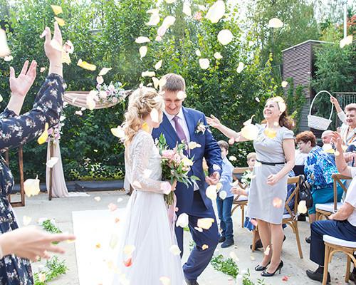 Продолжаем разговор о свадебной велком-зоне