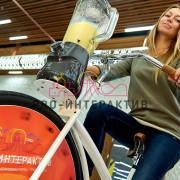 Велоаттракцион вело шейкер в аренду на мероприятие