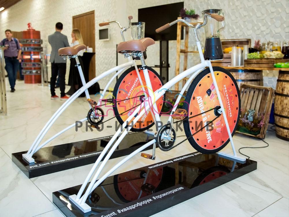 Организация аттракционов на мероприятии с велошейкером