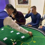 Развлечения на вечеринку в стиле выездного казино