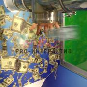 Аттракцион Летающие деньги в аренду