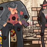 Интерактивный гангстерский тир