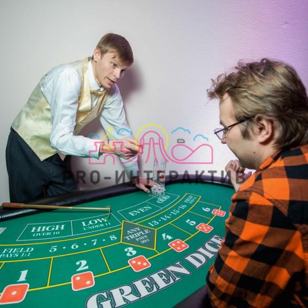 Игровой стол Грин Дайс ( Greem Dice )