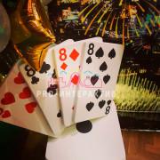 Баннер-задник в стиле казино