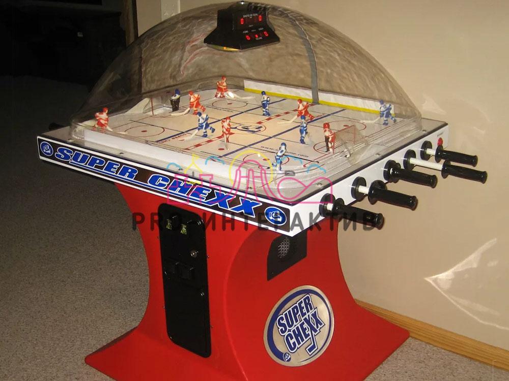 Прокат настольного хоккея на праздник