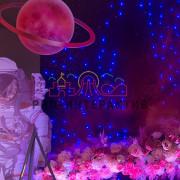Тематическая фотозона космос