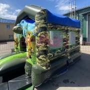 Армейский батут для детей