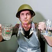 Мастер-класс по росписи пивных бокалов