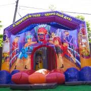 Батут на спортивный праздник для детей