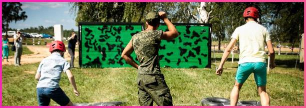Полоса препятствий армейская